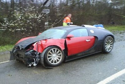 auto see blog blog archiv bugatti veyron unfall 1. Black Bedroom Furniture Sets. Home Design Ideas