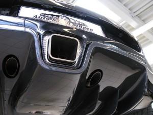 Bugatti Veyron von unten
